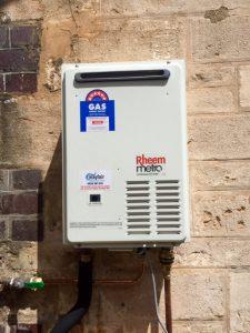 Rheem Metro Hot Water Service